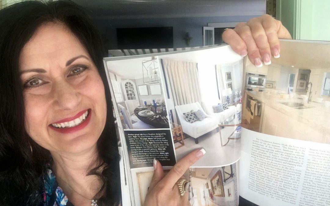 News! One of my projects has been published in Coastal Home Magazine!