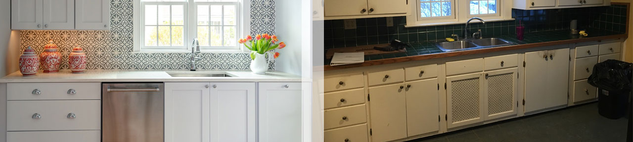 Before and After - Designs by Gia