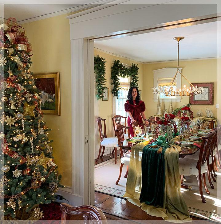 A Peek Inside My Holiday House Project