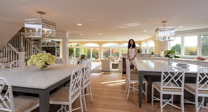 Country Estate Project- Kitchen/Family Room and Video Tour